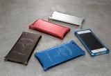 ジュラルミン製のiPhone用ケース カラーバリエーションは4種類だ