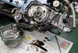エンジン腰上チューンだけでは今ひとつ…… クラッチとオイルポンプを強化しましょう!!
