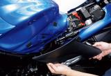 スズキGSX S1000ABSのエアエレメントの交換