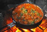 ライダーズレシピ「豆とソーセージのスープ」