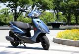 ヤマハ アクシスZ – 新世代エンジンで低燃費を実現したスタンダードスクーター