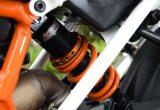 KTM DUKE/RCの走りをランクアップさせるアラゴスタのリアショック