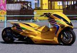 フォルツァのスタイルを一変させるハードスタイル