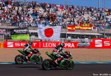 世界スーパーバイク選手権でカワサキが3年連続のマニュファクチャラーズタイトル獲得!