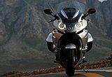 オートバイの、左と右