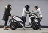 【バイク足つきチェック】2018年型ヤマハTRICITY 125 ABS(トリシティ125 ABS) 安定性の高い三輪ATコミューターの足つきはいいのか?!
