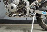 KLX125をカスタム! その1 ステップを適正位置にして自然なポジションに!