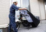 バイクの正しい保管方法/第2回 1ヶ月くらい編