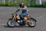 【ホンダ  Monkey 125 ABS 】プロトタイプに試乗! 50cc時代を彷彿させる癒し系の乗り心地!