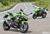 Ninja250/400のスポーツ性を引き上げるOVER RACINGのスペシャルパーツ