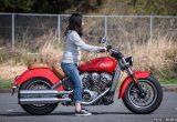 【バイク足つきチェック】2018年型インディアンSCOUT/シート高が643mmのアメリカンクルーザーなら足つきはラクラク?!