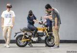 【バイク足つきチェック】2018年型モンキー125 ABS/人気者が125ccになって復活! フレンドリーさはそのままなのか?!