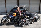 絶版バイク女子・カワサキZ750FX/バイクに乗ると決めたのは幼稚園時代! 意志の強さと行動力でZ750FXを操るチビッコ番長!!