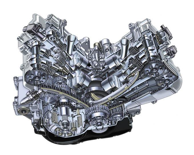 HONDA V4 MACHINES CATALOG 02/ジャストサイズの上質スポーツという道が開けたホンダV4