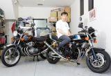 CB1100F/750K & FT500 & CB250RS-Z/ホンダ車に囲まれて暮らすガレージ生活