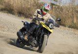 【スズキ V-Strom250ABS試乗記事】ABS装備でダート走行での安心感が増大