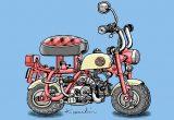 レトロバイク・グラフティ第1回 HONDA MONKEY(ホンダ モンキー)1967年