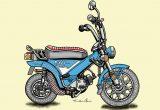 レトロバイク・グラフティ第2回 YAMAHA ZIPPY(ヤマハ ジッピィ)1973年