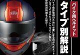 バイク用ヘルメットタイプ別解説