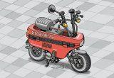 レトロバイク・グラフティ第8回 HONDA MOTOCOMPO(ホンダ モトコンポ)1981年