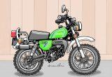レトロバイク・グラフティ第14回 SUZUKI HUSTLER TS50(スズキ ハスラー TS50)1979年