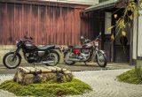 【カワサキ W800 vs W1比較試乗記事】半世紀を超えた新旧モデルに見た「W」スピリットとは……