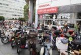スーパーカブを愛するライダーが大集合!! 『第23回 カフェカブミーティング in 青山』が開催