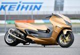 400ccの魅力をハードスタイルで表現したグランドマジェスティ