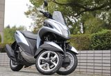 【ヤマハ トリシティ125試乗記】抜群の安定感と軽快な走りを両立した3輪シティコミューター