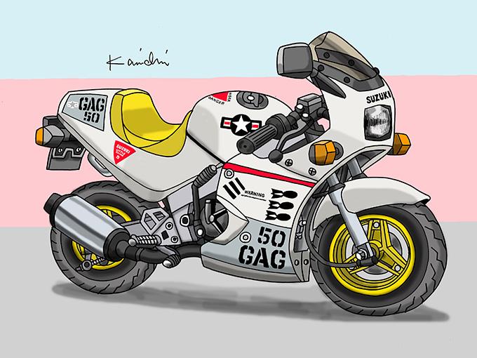 レトロバイク・グラフティ第30回 SUZUKI GAG(スズキ ギャグ)1986年