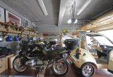 【新型コロナに負けるな!ガレージライフ】クルマ、バイク関係をはじめ、数々のデザインを手掛けた日本を代表するデザイナーが創り上げた創作空間