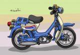 レトロバイク・グラフティ第43回 HONDA LITTLE HONDA(ホンダ リトルホンダ) 1966年