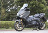 """【ヤマハ TMAX560 テックマックス ABS 試乗記】排気量アップで走りと快適性がさらに進化!スクーターを超えた""""オートマチックスポーツ"""""""