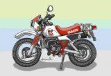 レトロバイク・グラフティ第46回YAMAHA DT50(ヤマハ DT50)1982年