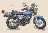レトロバイク・グラフティ第50回SUZUKI miniCRO 50(スズキ ミニクロ50)1975年