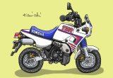 レトロバイク・グラフティ第52回YAMAHA TDR50(ヤマハ TDR50)1988年