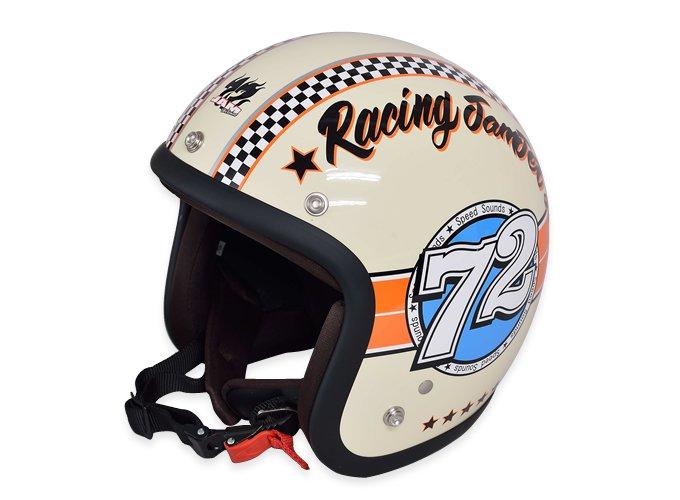 72 Jam jet helmet JJ-04 SPEED SOUND