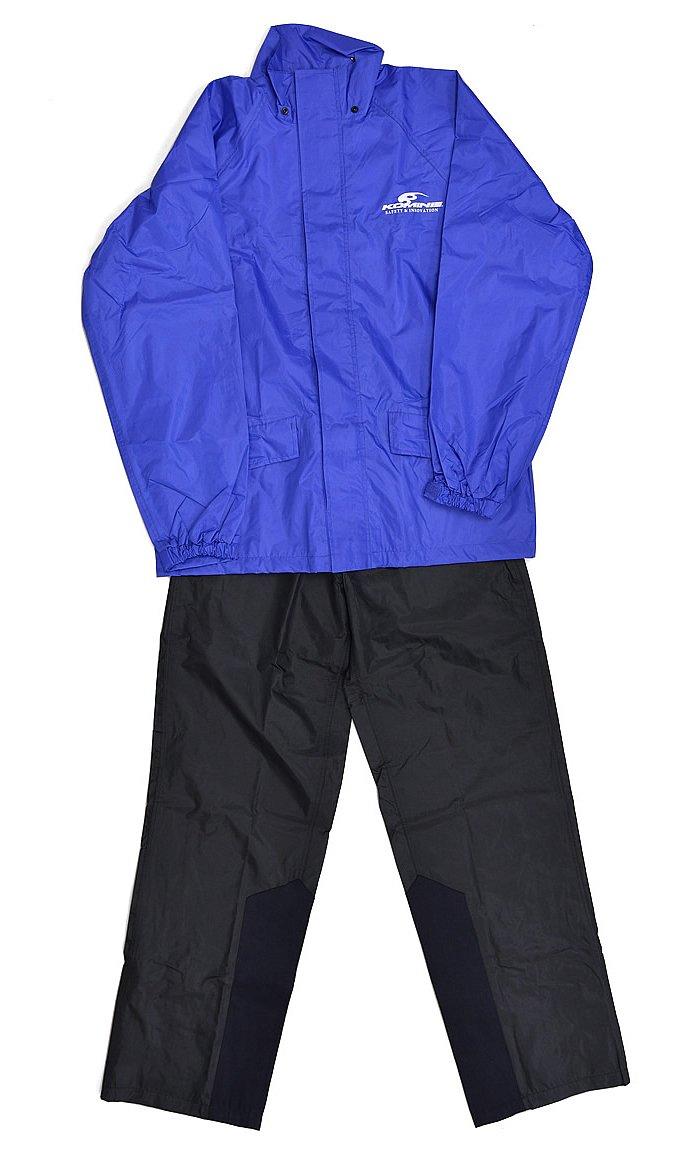 KOMINE RK-537 ネオレインウェア S-3XLB(ブルー)