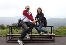 ツーリングは初めてという吉田ちゃんも頑張っておねぇ座りですが、直史先輩に比べると全然ですなぁ。