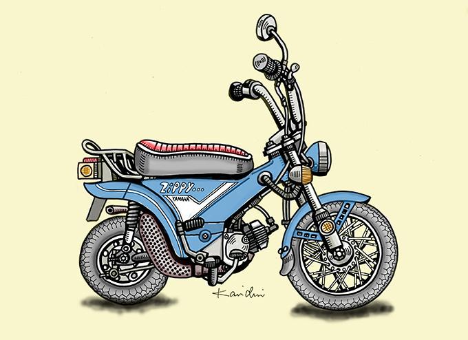 レトロバイク・グラフティ第2回 YAMAHA ZIPPY(ヤマハ ジッピィ)1973年の画像