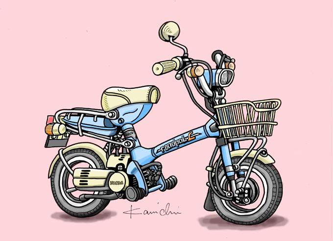 レトロバイク・グラフティ第3回 HONDA ROADPAL(ホンダ ロードパル)1976年の画像