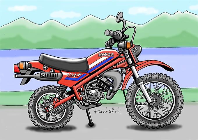 レトロ・バイクグラフティ第11回 YAMAHA PASSOL S50 (ヤマハ パッソルS50)1977年