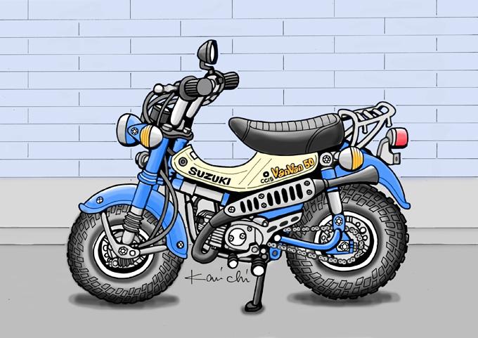 レトロ・バイクグラフティ第17回 SUZUKI GEMMA50(スズキ ジェンマ50)1981年