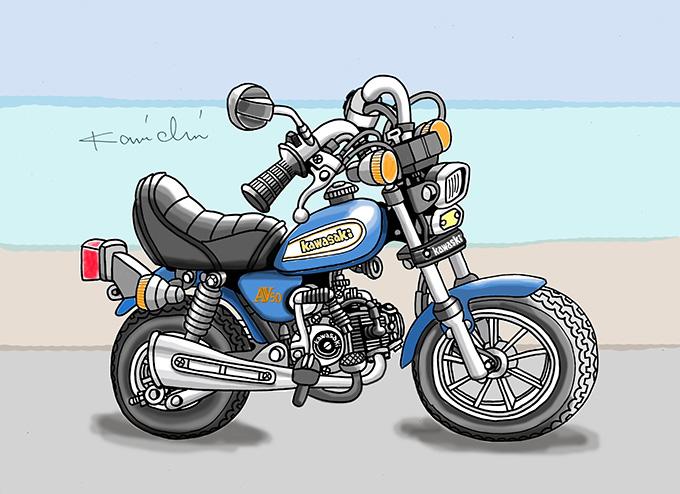 レトロバイク・グラフティ第21回 KAWASAKI AV50(カワサキ AV50)1982年