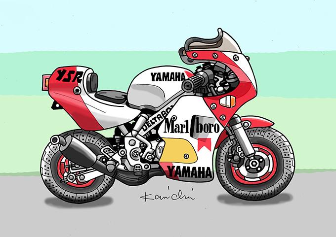 レトロバイク・グラフティ第22回 YAMAHA YSR50(ヤマハ YSR50)1986年