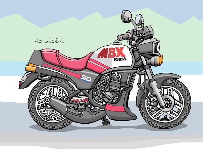 レトロバイク・グラフティ第25回 HONDA MBX50(ホンダ MBX50)1982年