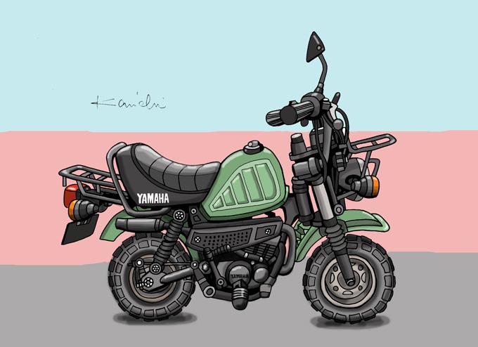 レトロバイク・グラフティ第27回 YAMAHA VOGEL QB50(ヤマハ フォーゲルQB50)1980年