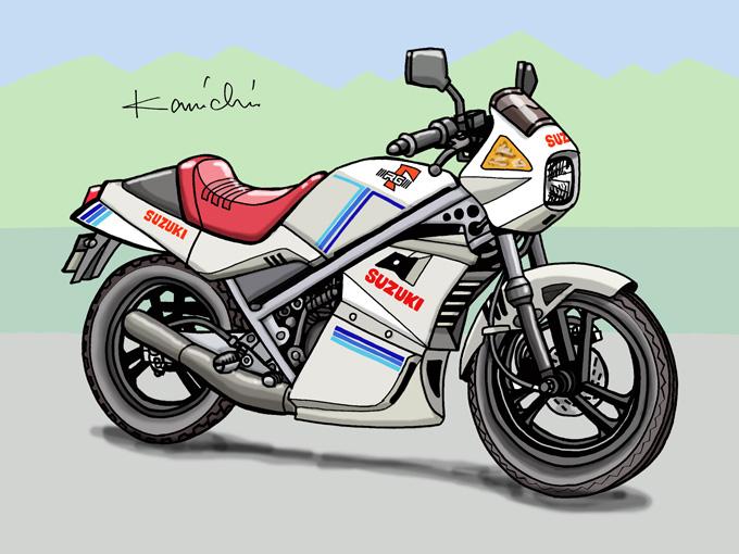 レトロバイク・グラフティ第28回 SUZUKI RG50Γ(スズキ RG50Γ)1982年