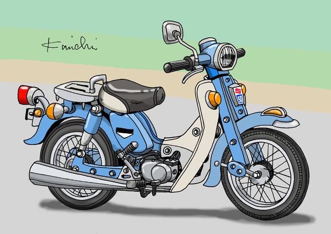 レトロバイク・グラフティ第31回 SUZUKI SUPERFREE(スズキ スーパーフリー)1969年
