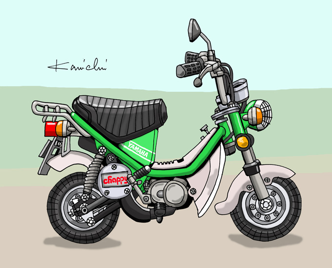 レトロバイク・グラフティ第32回 YAMAHA CHAPPY(ヤマハ チャピィ)1973年年